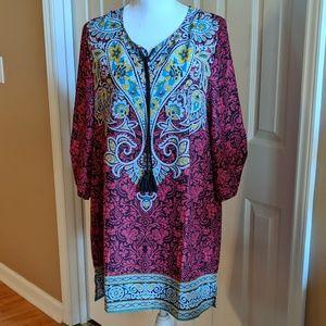 Tops - Multi-colored tunic